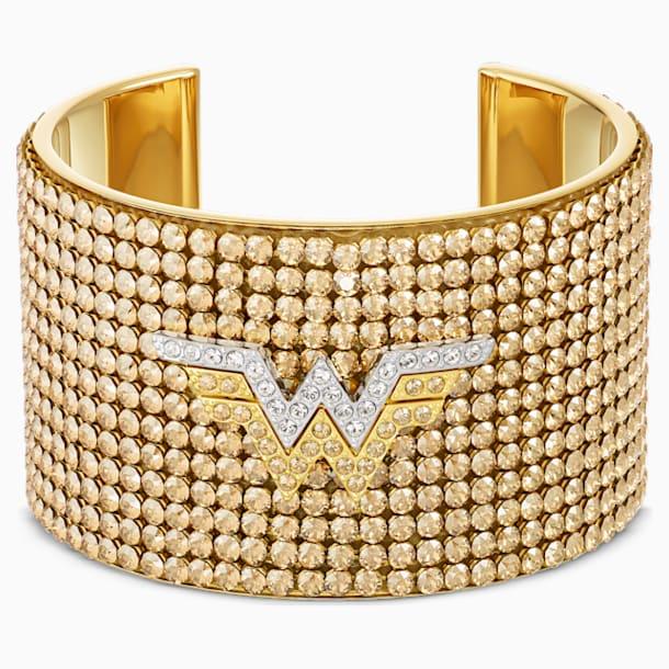 Brazalete Fit Wonder Woman, tono dorado, combinación de acabados metálicos - Swarovski, 5492145