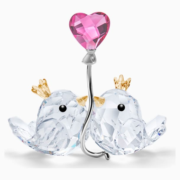 Love Birds, Pink Heart - Swarovski, 5492226