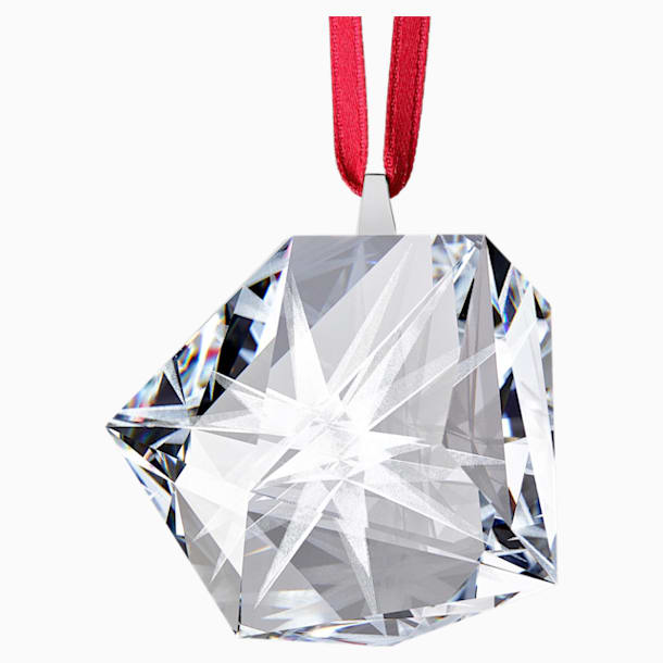 Daniel Libeskind Eternal Star Frosted Hanging Ornament, White - Swarovski, 5492545