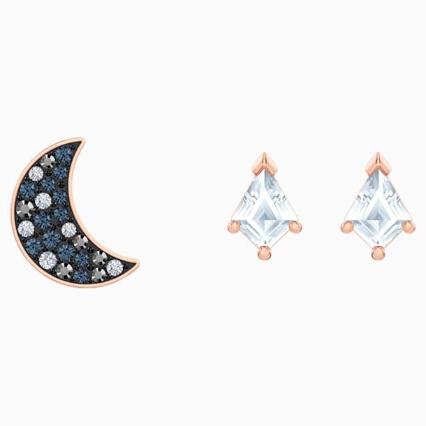 Swarovski Symbolic Комплект серёг, Многоцветный Кристалл, Покрытие оттенка розового золота - Swarovski, 5494353