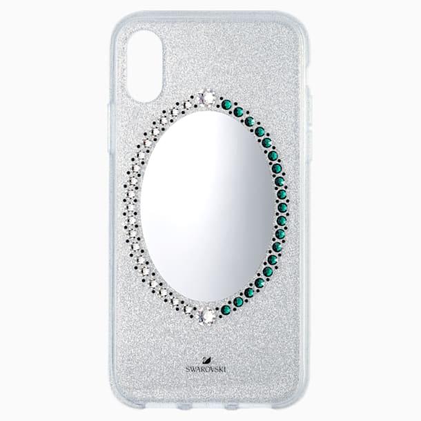 Pouzdro na chytrý telefon Black Baroque, iPhone® X/XS, šedé - Swarovski, 5494431