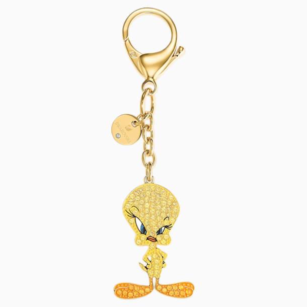 Looney Tunes 翠儿 手袋坠饰, 黄色 - Swarovski, 5494437