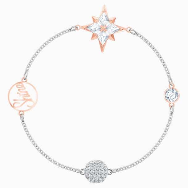 Swarovski Remix Collection Star Strand, 彩色设计, 多种金属润饰 - Swarovski, 5494886