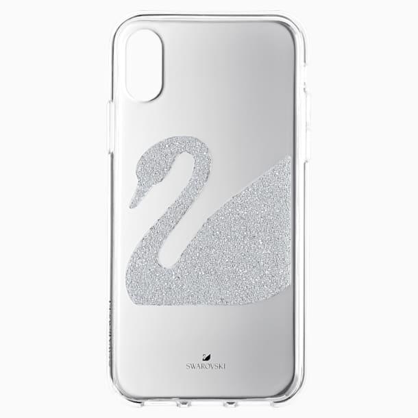 Swan Smartphone 套, iPhone® X/XS, 灰色 - Swarovski, 5498552