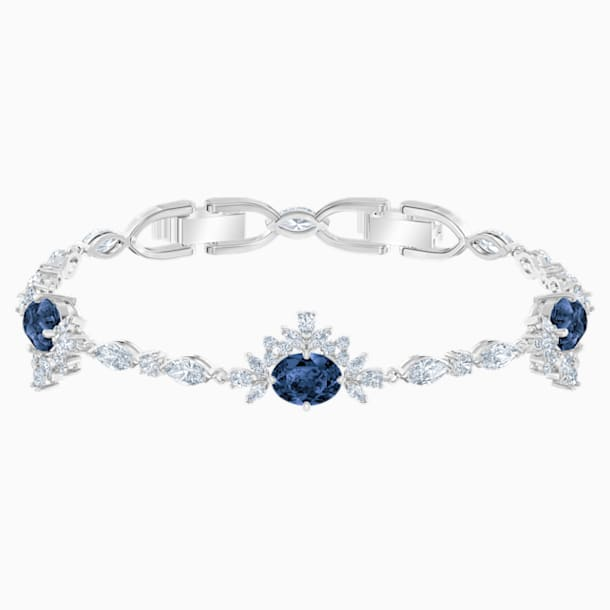 Palace Bracelet, White, Rhodium plated - Swarovski, 5498828