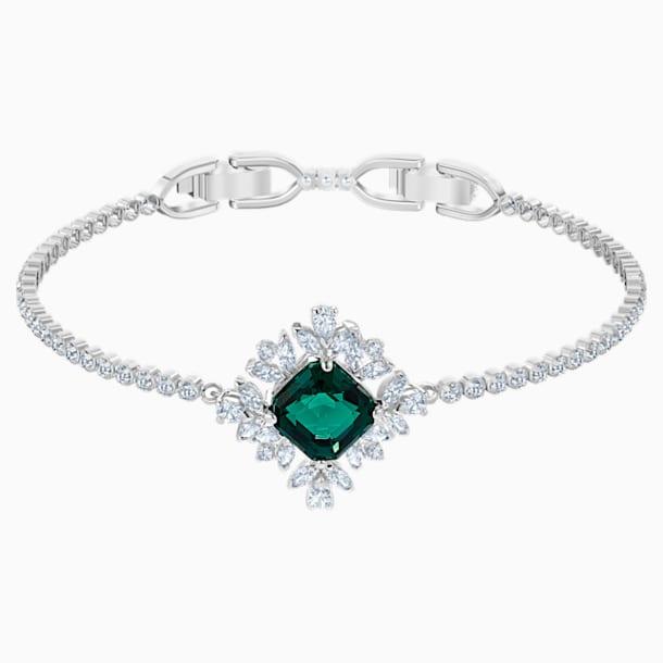 Bracelet Palace, vert, Métal rhodié - Swarovski, 5498835