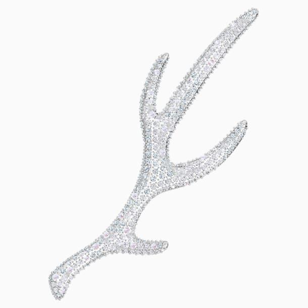 Spilla Polar Bestiary, multicolore, Placcatura rodio - Swarovski, 5499624