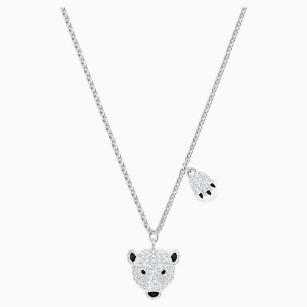 Polar Bestiary 펜던트, 멀티컬러, 로듐 플래팅 - Swarovski, 5499633
