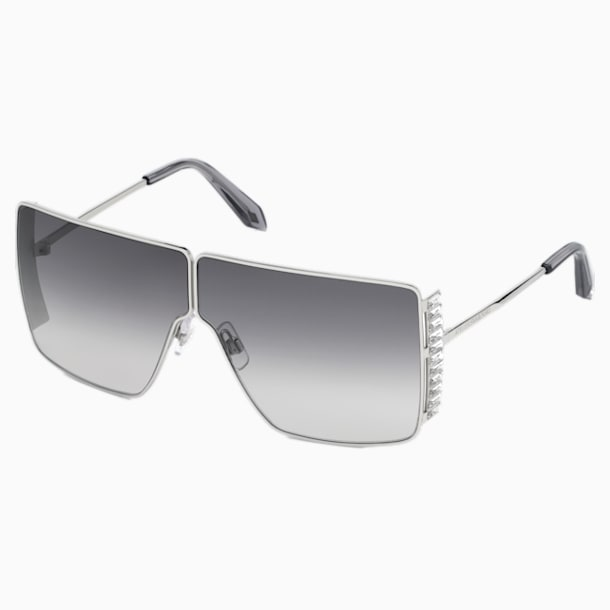Fluid Mask Sunglasses, SK236-P 16B, Black - Swarovski, 5500208