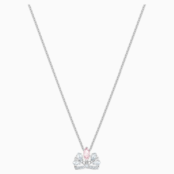 Collier Bee A Queen, rose, Métal rhodié - Swarovski, 5501076