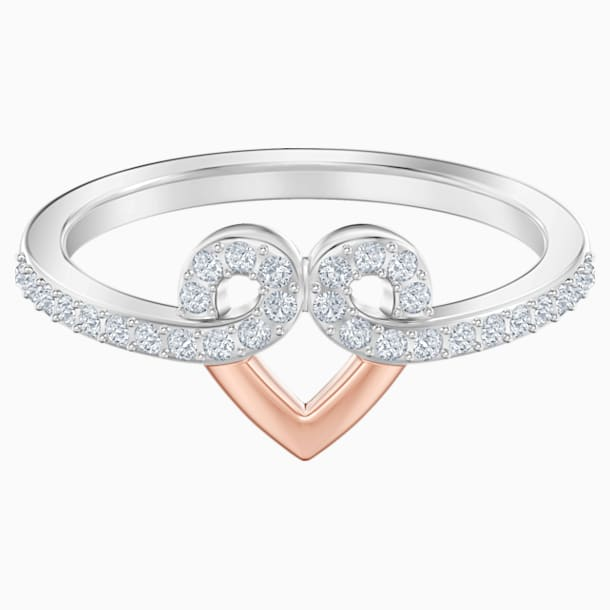 My Hero Motif Ring, White, Mixed metal finish - Swarovski, 5502941