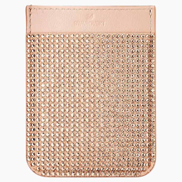 Swarovski Карман-стикер для смартфона, Розовый Кристалл - Swarovski, 5504673