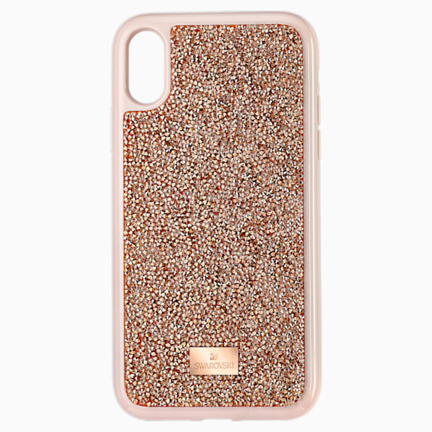Glam Rock Smartphone 套, iPhone® XR, 粉紅金色 - Swarovski, 5506306
