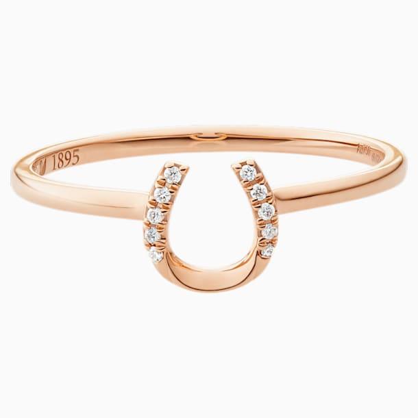 幸运之径玫瑰金钻石戒指 - Swarovski, 5506542