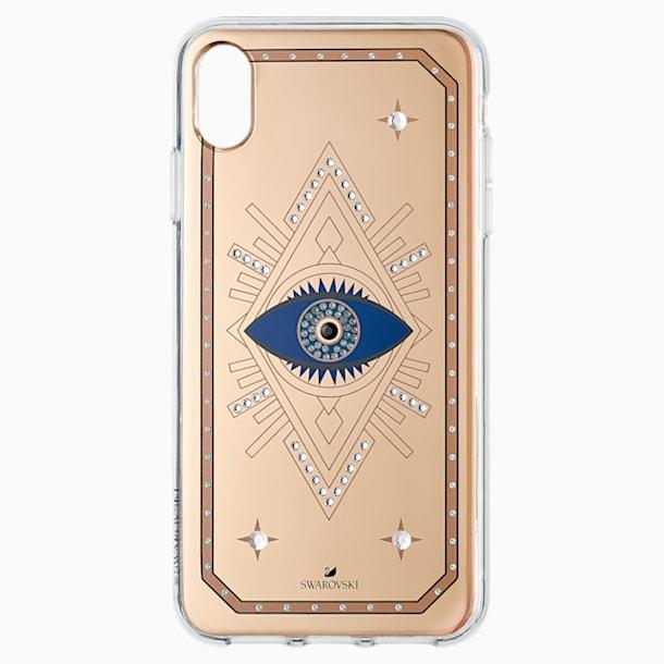 Pouzdro na chytrý telefon Tarot Eye, iPhone® XS Max, růžové zlato - Swarovski, 5507388