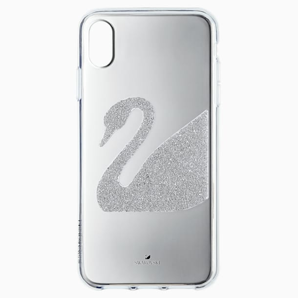 Swan Smartphone 套, iPhone® XR, 灰色 - Swarovski, 5507390