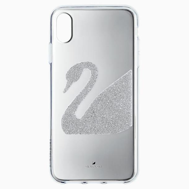 Swan Smartphone Case, iPhone® XR, Grey - Swarovski, 5507390
