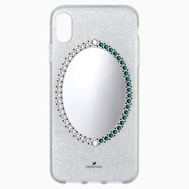 Funda para smartphone Black Baroque, iPhone® XS Max, gris - Swarovski, 5507554