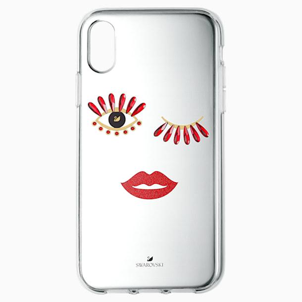 New Love okostelefon tok, iPhone® XS Max - Swarovski, 5507692