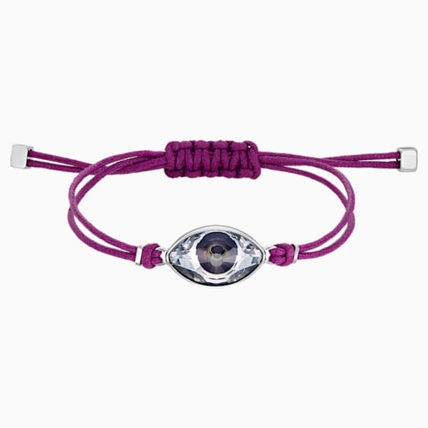 Swarovski Power Collection Evil Eye Bracelet, Purple, Stainless steel - Swarovski, 5508534