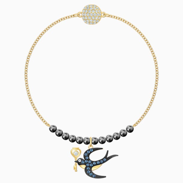 Swarovski Remix Collection Swallow Strand, 彩色设计, 镀金色调 - Swarovski, 5511085
