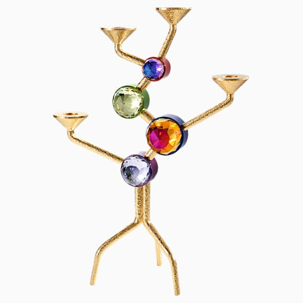 Arbol Four-candle Candelabra, Multicolored - Swarovski, 5511523