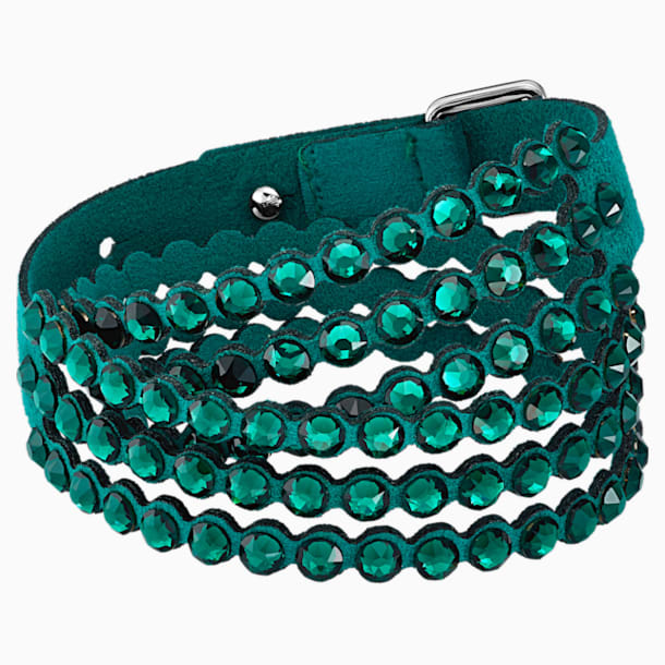 Braccialetto Swarovski Power Collection, verde - Swarovski, 5511700