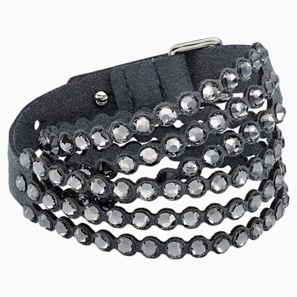 Swarovski Power Collection Bracelet, Dark Gray - Swarovski, 5512509