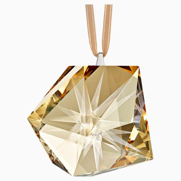 Daniel Libeskind Frosted Star Ornament, Golden - Swarovski, 5514534