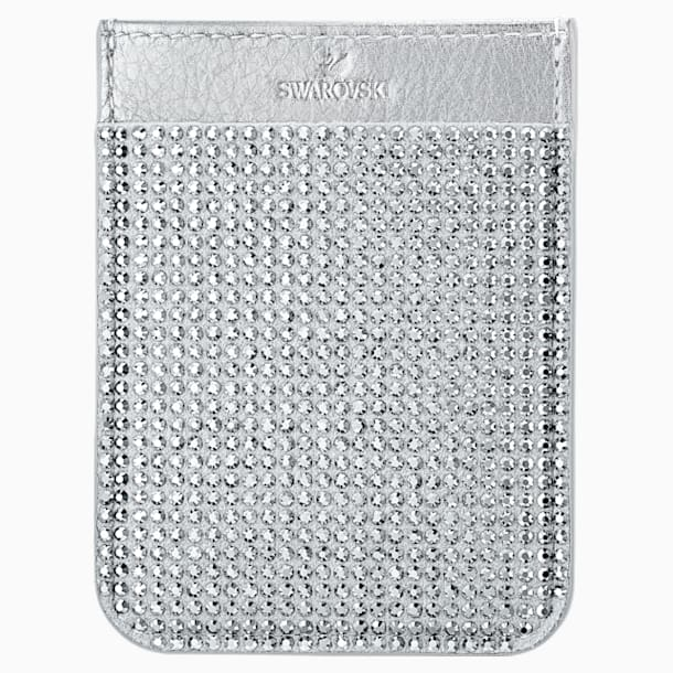 Swarovski Smartphone sticker pocket, Grey - Swarovski, 5514685