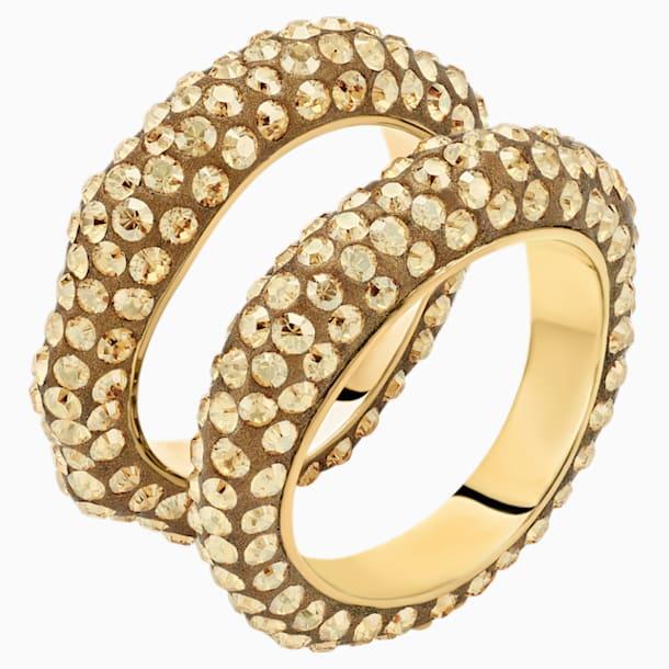 Tigris 戒指套裝, 金色, 鍍金色色調 - Swarovski, 5515316