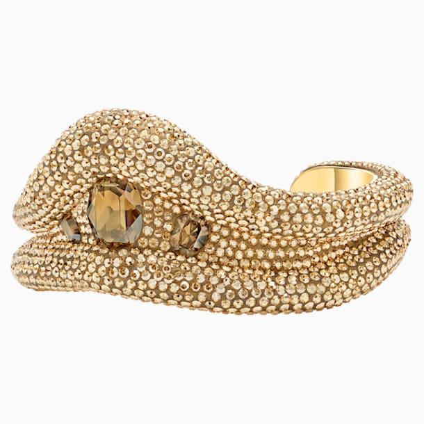 Tigris Cuff, Gold tone, Gold-tone plated - Swarovski, 5515362