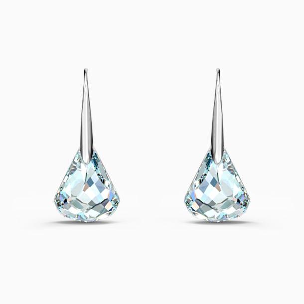 Spirit Pierced Earrings, White, Rhodium plated - Swarovski, 5516533