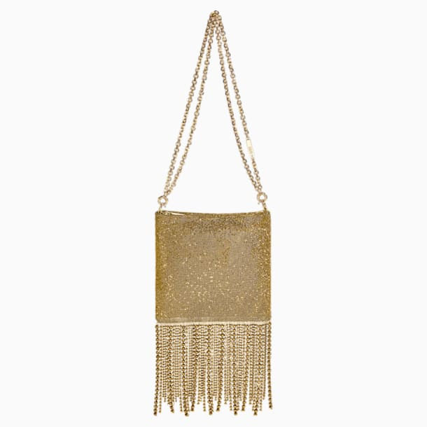 Fringe Benefit Bag, Gold tone - Swarovski, 5517602