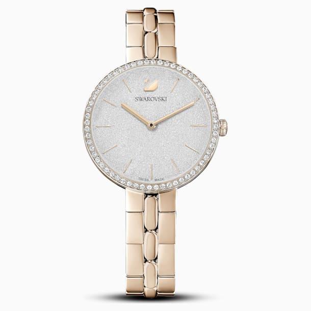 Orologio Cosmopolitan, bracciale di metallo, tono dorato, PVD tonalità oro champagne - Swarovski, 5517794