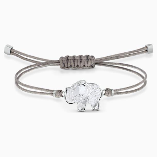 Bracelet Swarovski Power Collection Elephant, gris, acier inoxydable - Swarovski, 5518653