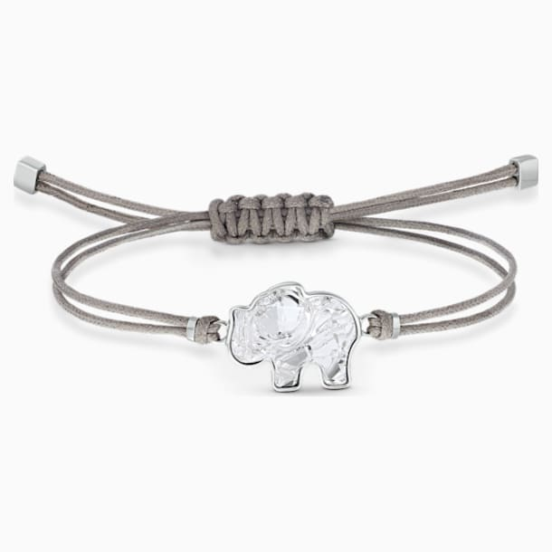 Pulsera Swarovski Power Collection Elephant, gris, acero inoxidable - Swarovski, 5518653