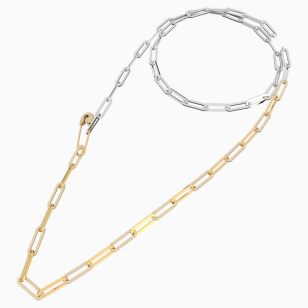 Naszyjnik So Cool, biały, różnobarwne metale - Swarovski, 5521723