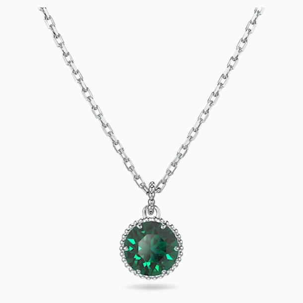 Μενταγιόν Birthstone, Μάιος, πράσινο, επιροδιωμένο - Swarovski, 5522776
