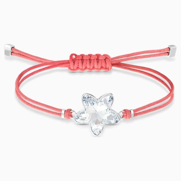Swarovski Power Collection Flower Браслет, Красный Кристалл, Нержавеющая сталь - Swarovski, 5523170