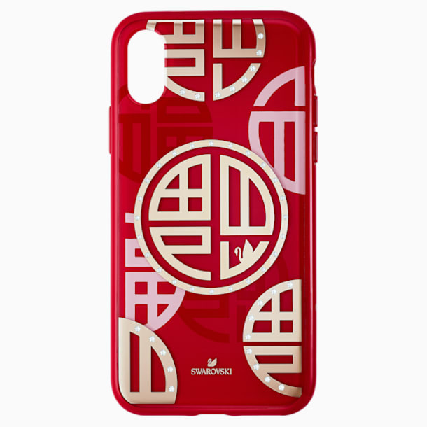 Full Blessing Fu 智能手機防震保護套, iPhone® X/XS, 紅色 - Swarovski, 5526480