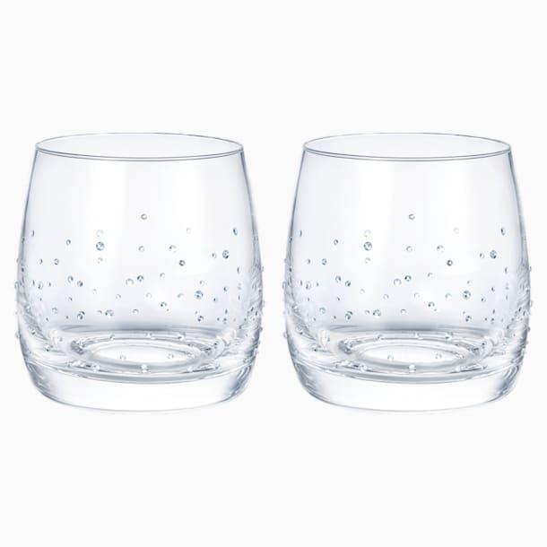 Light平底酒杯(一对) - Swarovski, 5527094