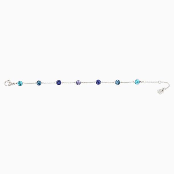Blow Bracelet, Multi-coloured, Rhodium plated - Swarovski, 5528200