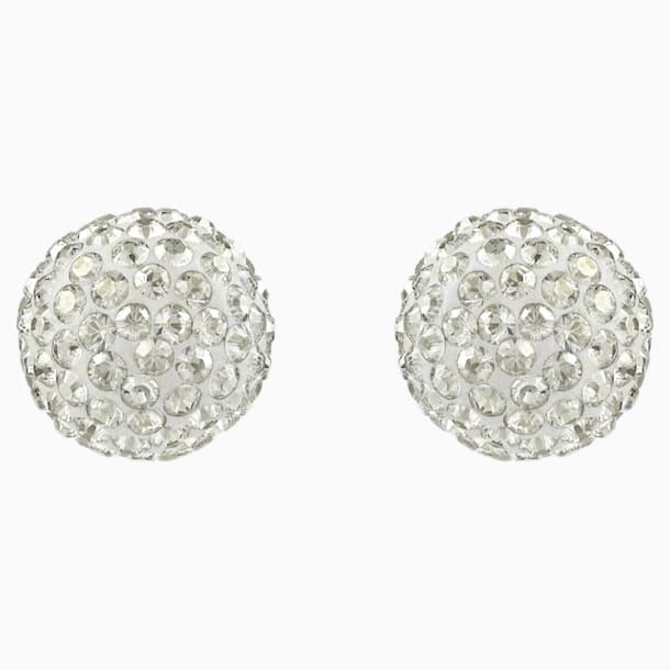 Blow 穿孔耳环, 灰色, 多种金属润饰 - Swarovski, 5528455