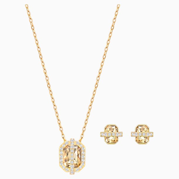 Set Favor, Placcato oro - Swarovski, 5528953