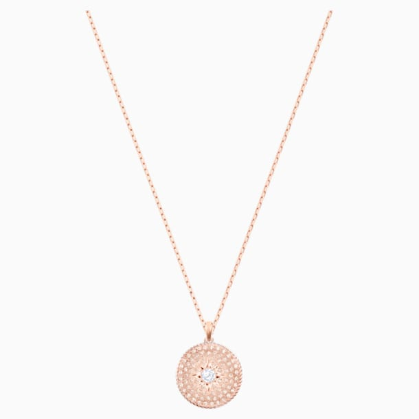 Pendente Locket, rosa, Mix di placcature - Swarovski, 5529372