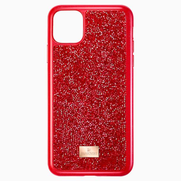 Custodia per smartphone Glam Rock, iPhone® 11 Pro Max, rosso - Swarovski, 5531143