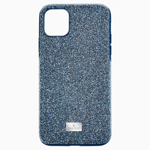Custodia per smartphone High, iPhone® 11 Pro Max, azzurro - Swarovski, 5531148