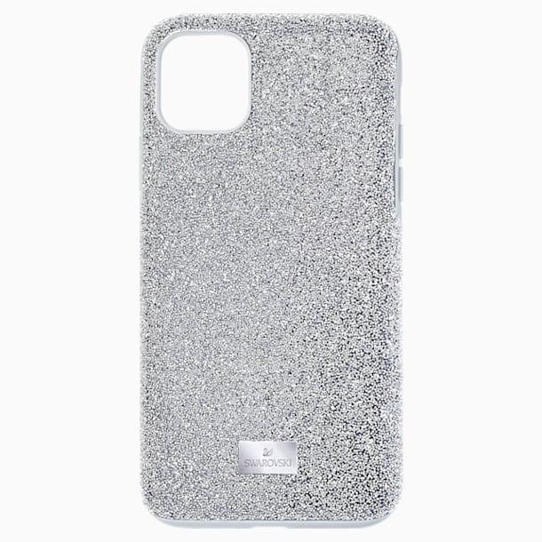 High Smartphone Case, iPhone® 11 Pro Max, Silver tone - Swarovski, 5531149