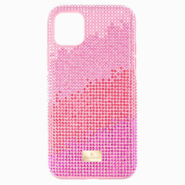 Étui pour smartphone High Love, iPhone® 11 Pro Max, rose - Swarovski, 5531152